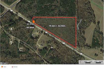 Lots And Land for sale in Hwy 407, French Camp, MS, 39745