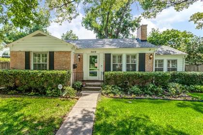 Residential Property for sale in 5419 Bradford Drive, Dallas, TX, 75235