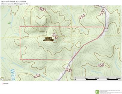 Lots And Land for sale in 0 WINTER, French Camp, MS, 39772