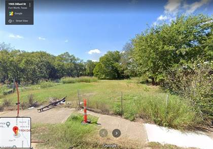 Lots And Land for sale in 1904 Dillard Street, Fort Worth, TX, 76105