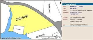 Land for sale in Riverside Rd., Colchester County, Nova Scotia