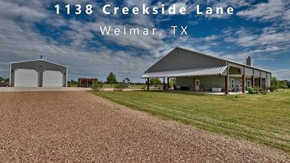 Farm And Agriculture for sale in 1138 Creekside Lane, Weimar, TX, 78962