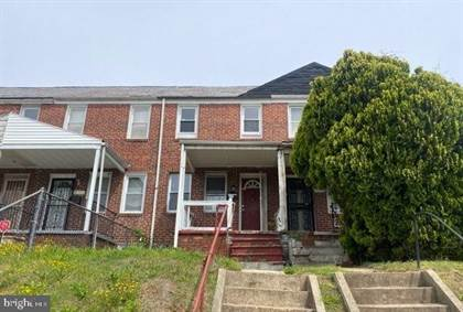 Residential for sale in 2502 OSWEGO AVE, Baltimore City, MD, 21215