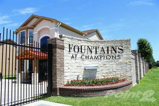 Apartment for rent in Fountains at Champions, Houston, TX, 77069