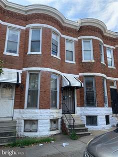 Residential for sale in 1808 N MONROE ST, Baltimore City, MD, 21217