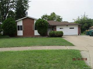 Single Family for sale in 9484 TERRY Street, Romulus, MI, 48174
