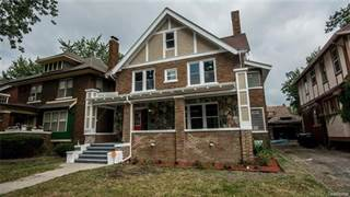 Single Family for sale in 1652 EDISON Street, Detroit, MI, 48206