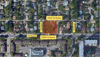 Vacant Land for sale in 13530/13512 115 AV NW 13530, Edmonton, Alberta, T5M3A8