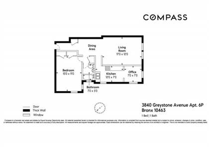 Residential Property for sale in 3840 Greystone Avenue 6-P, Bronx, NY, 10463