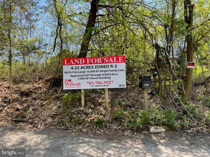 Lots And Land for sale in 4214 PINE LANE, Alexandria, VA, 22312