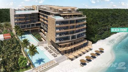 Condominium for sale in Beach front apartments in Puerto Morelos Quintana Roo - EXCELLENT PRE-SALE PRICES!, Puerto Morelos, Quintana Roo