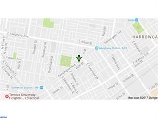 Land for sale in 3065  KENSINGTON AVENUE, Philadelphia, PA, 19134