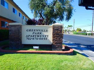 Apartment for rent in Greenville Park Apartments - 1 Bedroom 1 Bath, Las Vegas, NV, 89102