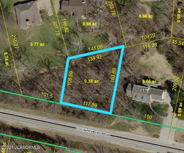 Lots And Land for sale in TBD COUNTRY CLUB DRIVE, Jefferson, MO, 65109