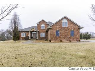 Single Family for sale in 4475 E DIVERNON RD, Pawnee, IL, 62558