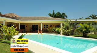 Residential Property for sale in RE-SALE WONDERFUL 3 BEDROOM VILLA WITH BIG GARDEN IN CASA LINDA, Sosua, Puerto Plata