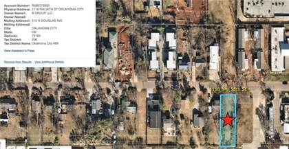 Lots And Land for sale in 1118 NW 56th Street, Oklahoma City, OK, 73118