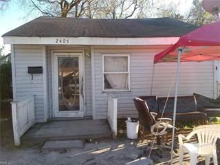 Single Family for sale in 2405 Deep Creek Boulevard, Portsmouth, VA, 23704