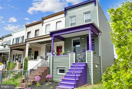 Residential Property for sale in 852 W 33RD STREET, Baltimore City, MD, 21211