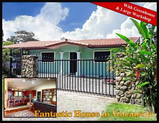 Residential Property for sale in Fantastic Volcancito, Boquete House for Sale Includes Large Workshop--, Boquete, Chiriquí