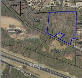 Lots And Land for sale in 0 Collier Drive, Atlanta, GA, 30318
