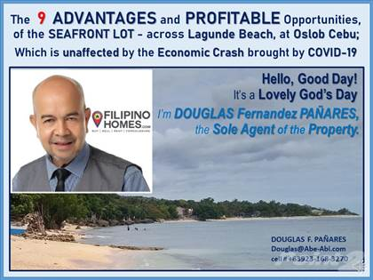 Commercial for sale in The 9 Advantages and Profitable Opportunities of this Lot across Lagunde Beach of Oslob, Cebu, Oslob, Cebu