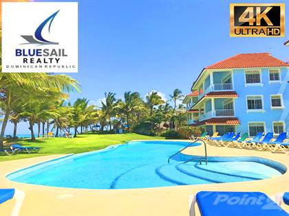 Residential Property for sale in 4K VIDEO TOUR! REDUCED, PRICED TO SELL! 1 BEDROOM OCEAN FRONT CONDO AMAZING VIEWS!, Cabarete, Puerto Plata