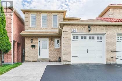 Single Family for sale in 39 SANDMERE AVE, Brampton, Ontario, L6Z4A2
