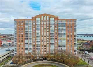 Condo for sale in 250 E Harbortown Drive 606, Detroit, MI, 48207