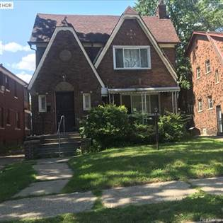 Multifamily for sale in 17327 INDIANA Street, Detroit, MI, 48221