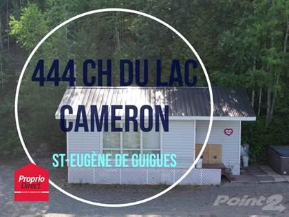 Residential Property for sale in 444 Ch. du Lac-Cameron, Saint-Eugene-de-Guigues, Quebec