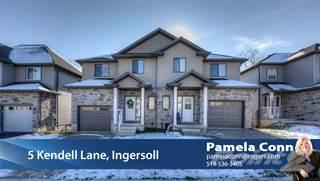 Residential Property for sale in 5 Kendell Lane, Ingersoll, Ontario, N5C 0B7