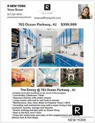 Co-op for sale in 763 Ocean Parkway 4J, Brooklyn, NY, 11230