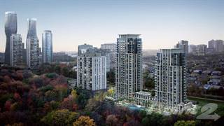 Condo for sale in 202 Burnhamthorpe Rd East keystone condos By Kaneff Now On Sale, Mississauga, Ontario