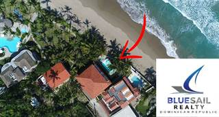 Residential Property for sale in Reduced For Fast Sale! 2 Bedroom Oceanfront Condo Walk To Town! Dominican Republic, Cabarete, Cabarete, Puerto Plata
