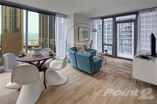 Apartment for rent in Coast at Lakeshore East - 1 Bed City View: L, Chicago, IL, 60601