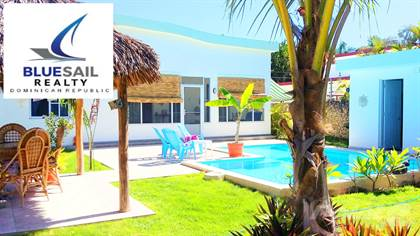 Residential Property for sale in Offering 50% Financing! 2 Bed 2 Bath Newly Built Villa With Pool, Walk To The Beach, Cabarete!, Cabarete, Puerto Plata