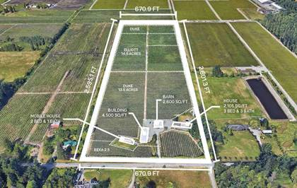 Agriculture for sale in 1975 232 STREET, Langley Township, British Columbia
