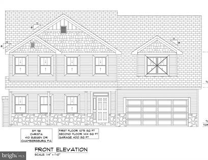 Residential Property for sale in 410 EUGENE DRIVE, Chambersburg, PA, 17202