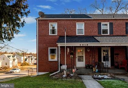 Residential Property for sale in 2319 HEMLOCK AVE, Baltimore City, MD, 21214