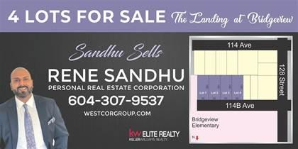 Vacant Land for sale in 12856 114B AVENUE, Surrey, British Columbia, N0N0N0
