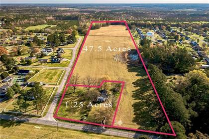 Lots And Land for sale in 47+ AC Hunterdale Road, Franklin, VA, 23851