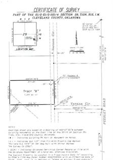 Lots And Land for sale in 16133 Vernon Circle, Newalla, OK, 74857