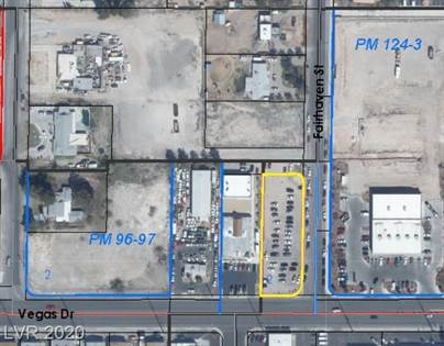 Lots And Land for sale in 4940 Vegas Drive, Las Vegas, NV, 89108