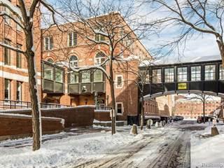 Condo for sale in 200 RIVER PLACE Drive 19, Detroit, MI, 48207