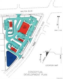 Lots And Land for sale in VL Telegraph / Walton, Pontiac, MI, 48340