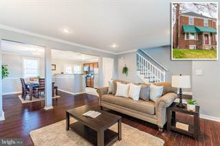 Townhouse for sale in 1628 ROUNDHILL ROAD, Baltimore City, MD, 21218