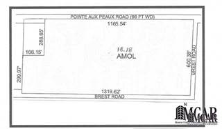Land for sale in 0 POINTE AUX PEAUX, Newport, MI, 48166