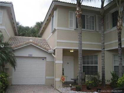 Residential Property for sale in 2282 NW 171st Ter 2282, Pembroke Pines, FL, 33028
