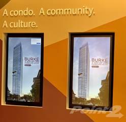 Condominium for sale in Burke Condos - Toronto Preconstruction Condos, Toronto, Ontario, M4X1L7